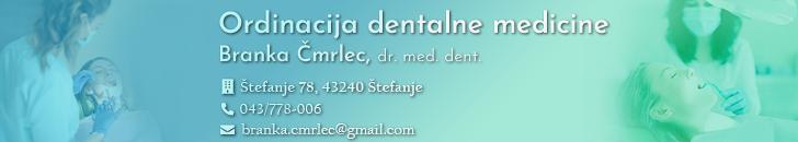 Ordinacija-dentalne-medicine-Branka-Čmrlec-dr.-med.-dent.